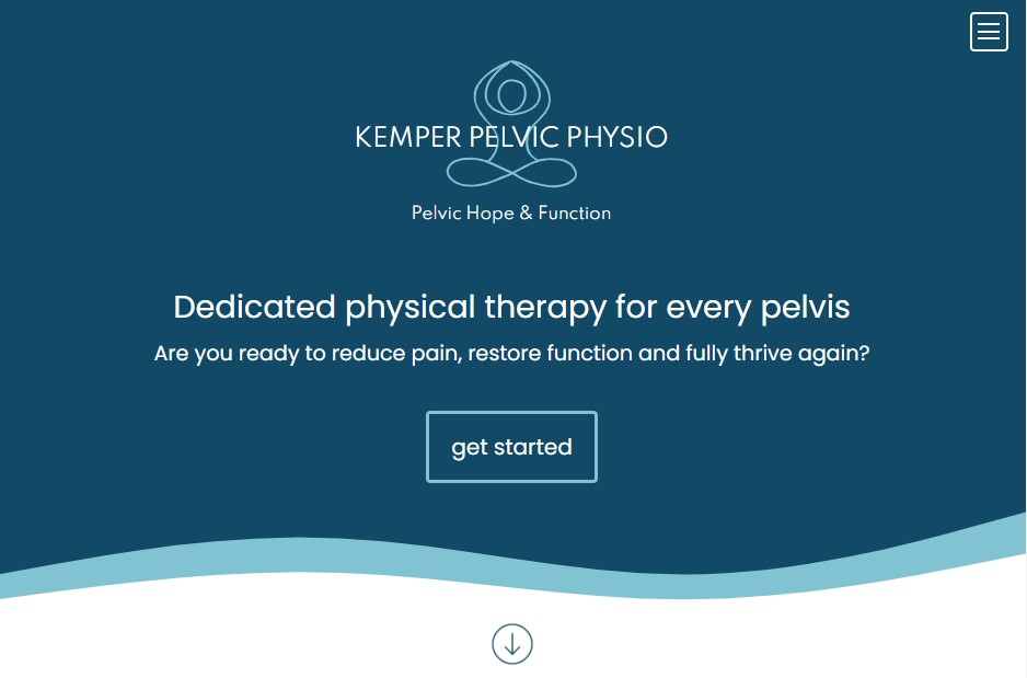 Homepage of Kemper PT